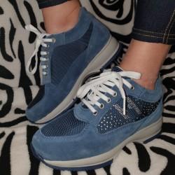 Sneakers donna camoscio...