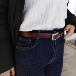 Cintura donna vera pelle