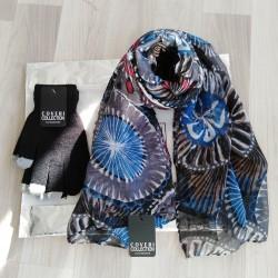 Conf. Pashmina+guanti donna...