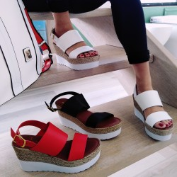 Sandalo Donna Vera Pelle...