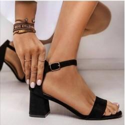 Sandaletto donna tacco largo